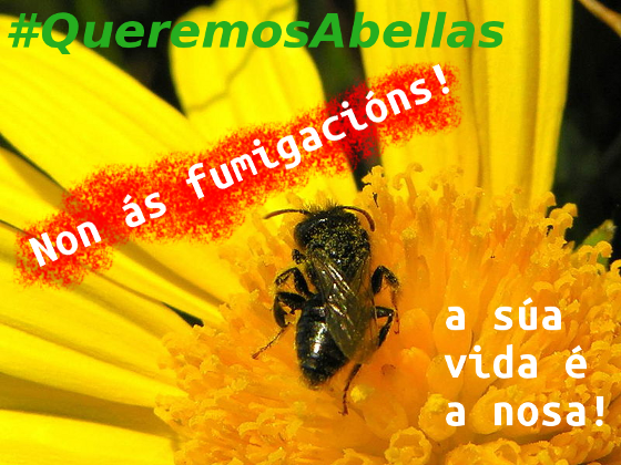 #QueremosAbellas #FumigacionsNON